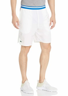 Lacoste Men's Sport Novak Djokovic On Court Taffeta Shorts  L