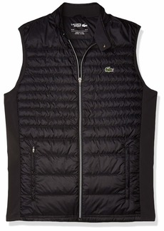 Lacoste Men's Sport Padded Golf Vest Black/BlackBlack L