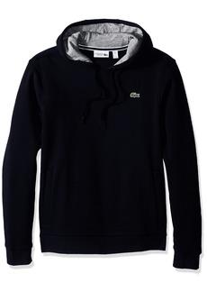Lacoste Men's Sport Pull Over Hoodie Fleece Sweatshirt SH2128  L