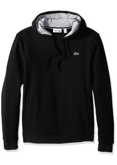 Lacoste Men's Sport Pull Over Hoodie Fleece Sweatshirt SH2128
