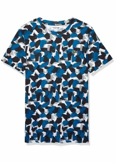 Lacoste Men's Sport Short Sleeve CAMO Printed TEE  M