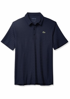 Lacoste Men's Sport Short Sleeve Jacquard Techincal Polo Shirt  3XL