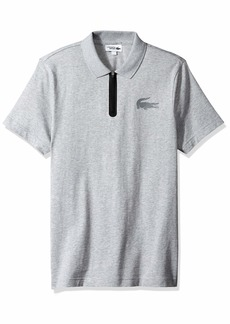 Lacoste Men's Sport Short Sleeve Jersey Polo W/Reflective Croc