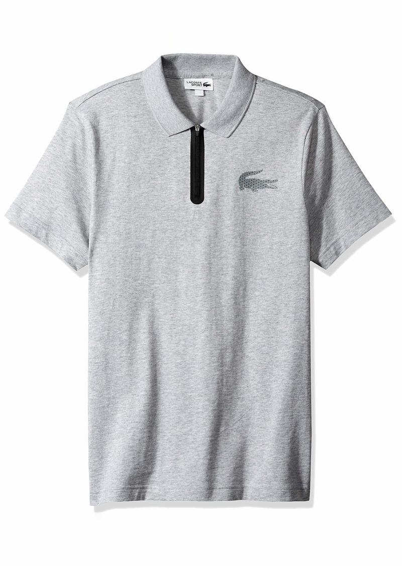 Lacoste Men's Sport Short Sleeve Jersey Polo W/Reflective Croc