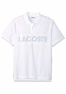 Lacoste Men's Sport Short Sleeve Super Light MESH Logo Polo