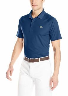 663ae7ca8f Lacoste Men's Sport Short Ultra Dry Raglan Sleeve Polo DH9631 inkwell