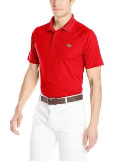 Lacoste Men's Sport Short Ultra Dry Raglan Sleeve Polo Shirt  M