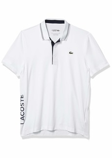 Lacoste Men's Sport Super Dry Short Sleeve Jersey Polo Shirt  XL