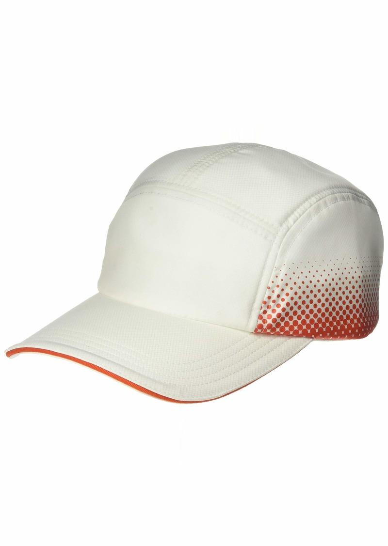 Lacoste Mens Sport Taffeta Casquette RADIENT Print HAT White/Mexico red ONE