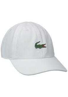 Lacoste Men's Sport Tennis Microfiber Crocodile Cap