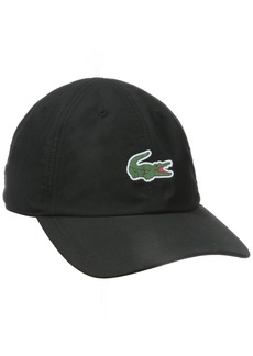 Lacoste Men's Men's Sport Polyester Cap With Green Croc