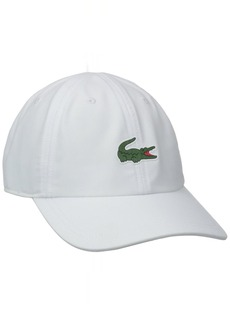Lacoste Men's Sport Polyester Cap with Green Croc Hat  TU