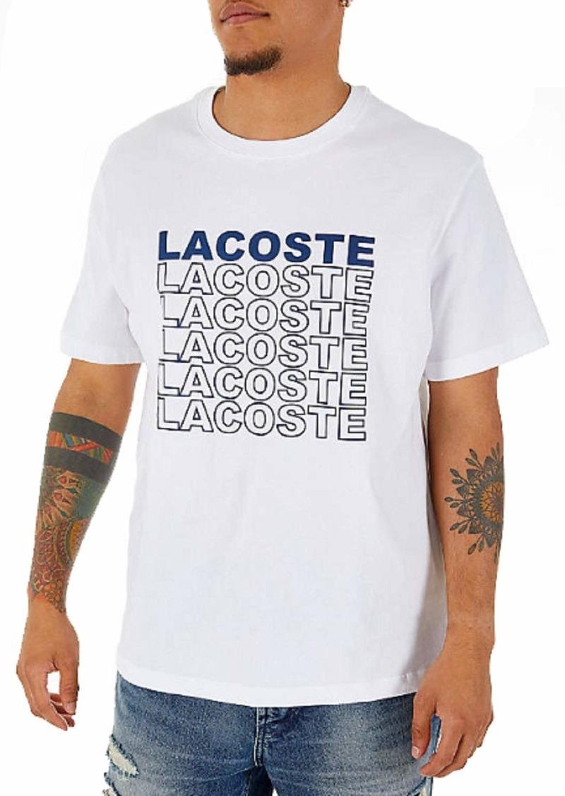 Lacoste Men's S/S Graphic Back T-Shirt  4X-Large