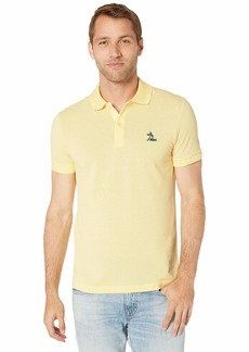 Lacoste Men's S/S Regular Pique with Embroidered Graphic Polo REG FIT NAPOLITAN Yellow