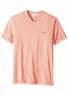 fe7b73be Lacoste Lacoste Men's S/S Pique 2 Stripe T-Shirt SALVIA/LUCIDA/White ...