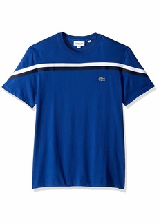 Lacoste Men's S/S Striped Jersey T-Shirt Regular FIT