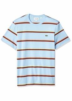 17570624 Lacoste Men's S/S Striped Light Jersey PIMA Cotton T-Shirt