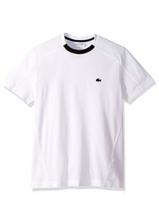 Lacoste Men's S/S Striped Pique PIMA Ultra Leger T-Shirt Regular FIT  4X-Large