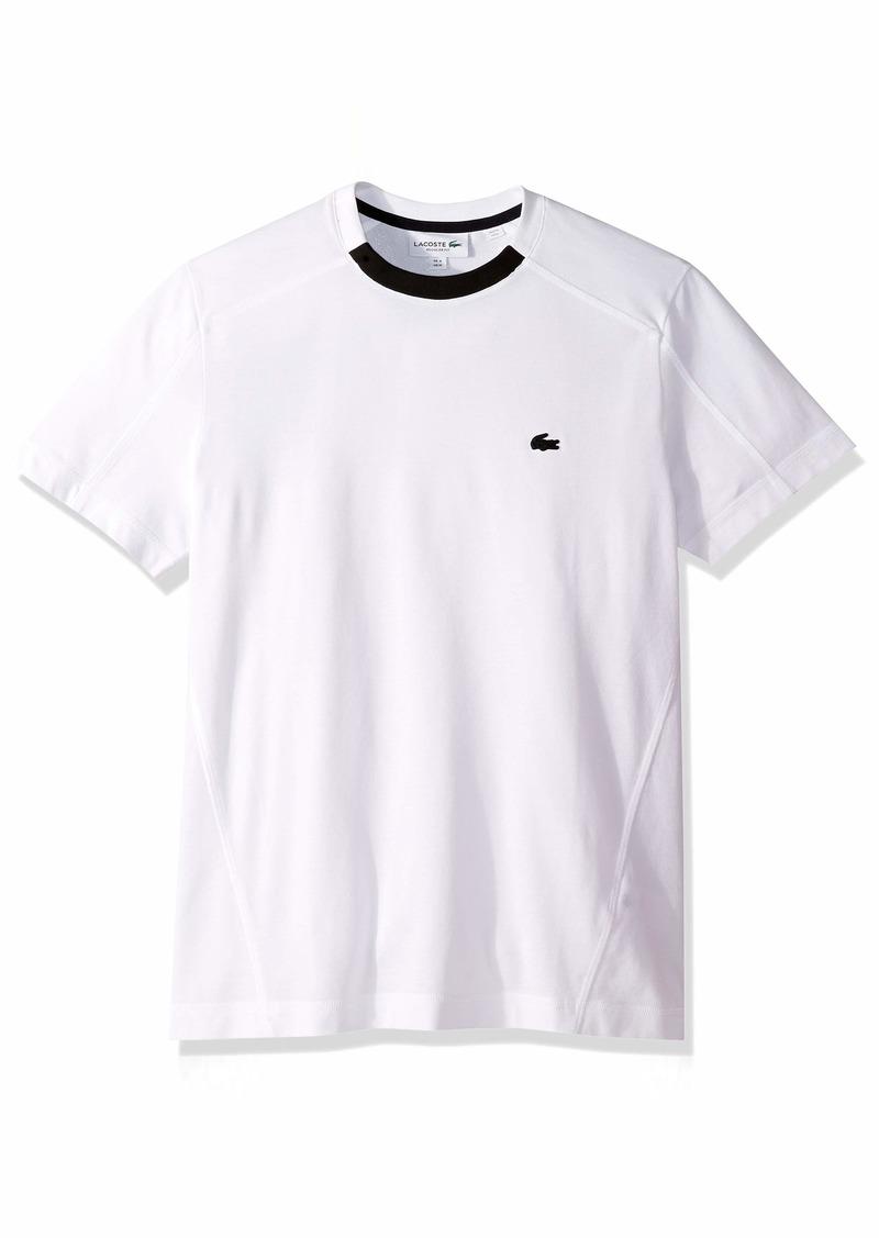 Lacoste Men's S/S Striped Pique PIMA Ultra Leger T-Shirt Regular FIT  4X-Large