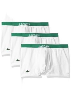 Lacoste Men's 3 Pack Cotton Stretch Boxer Brief  XL