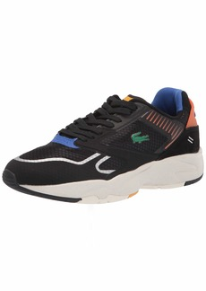 Lacoste Men's Storm 96 Nano Sneakers BLK/ORG