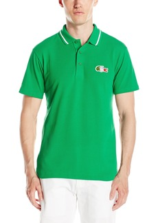 Lacoste Men's Supporter Short Sleeve Pique Polo by Country  L