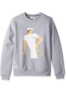 Lacoste Men's Sweatshirt with Vintage Graphic SH2145-51