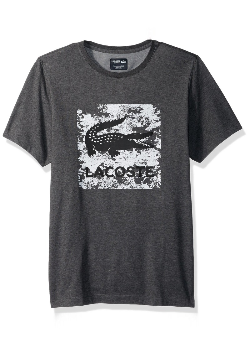 Men's Chest Sleeve Lacoste Tennis Square Short Graphic Croc PvqqdtXn