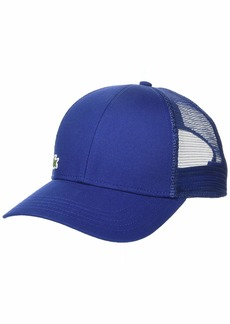 Lacoste Men's Trucker Hat with Printed Brim  ONE