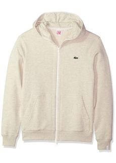 Lacoste Men's Unisex Fleece Full Zip Sweatshirt
