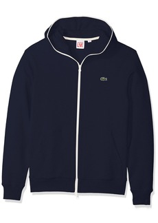 Lacoste Men's Unisex Fleece Full Zip Sweatshirt  XXL