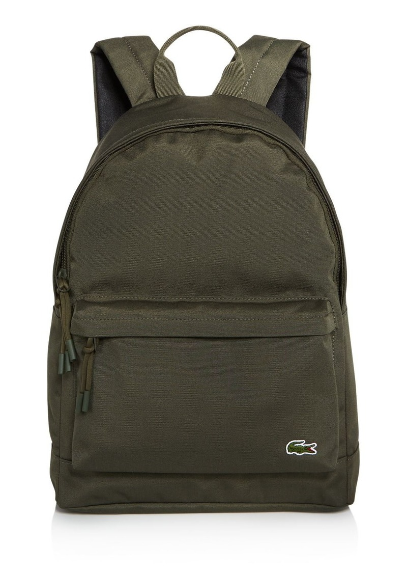 Lacoste Neocroc Canvas Backpack