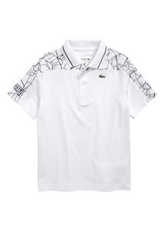 Lacoste Novak Djokovic Shoulder Print Polo (Big Boys)