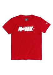 Lacoste Lacoste Novak Djokovic Tech Jersey T Shirt Little Boys Tshirts