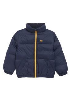 Lacoste Quilted Puffer Jacket (Big Boys)