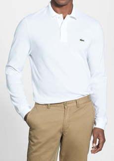Lacoste Regular Fit Long Sleeve Piqué Polo