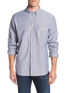 Lacoste Regular Fit Oxford Sport Shirt