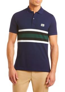 Lacoste Regular Fit Stripe Heavy Piqué Polo
