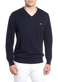 Lacoste Regular Fit V-Neck Sweater