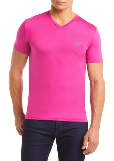 Lacoste Regular Fit V-Neck T-Shirt