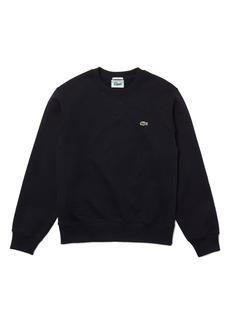 Lacoste Ribbed Side Organic Cotton Sweatshirt