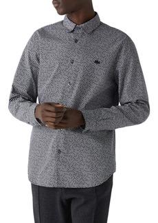 Lacoste Slim Fit Dot Button-Up Shirt