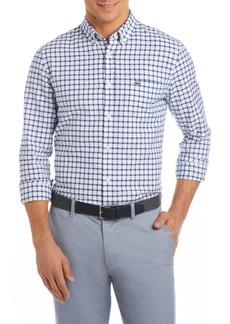 Lacoste Slim Fit Grid Cotton Sport Shirt