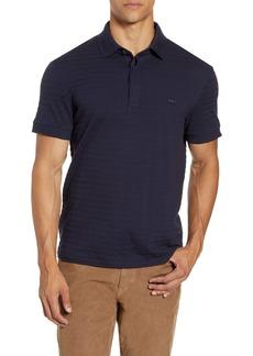 Lacoste Solid Cotton & Cashmere Polo