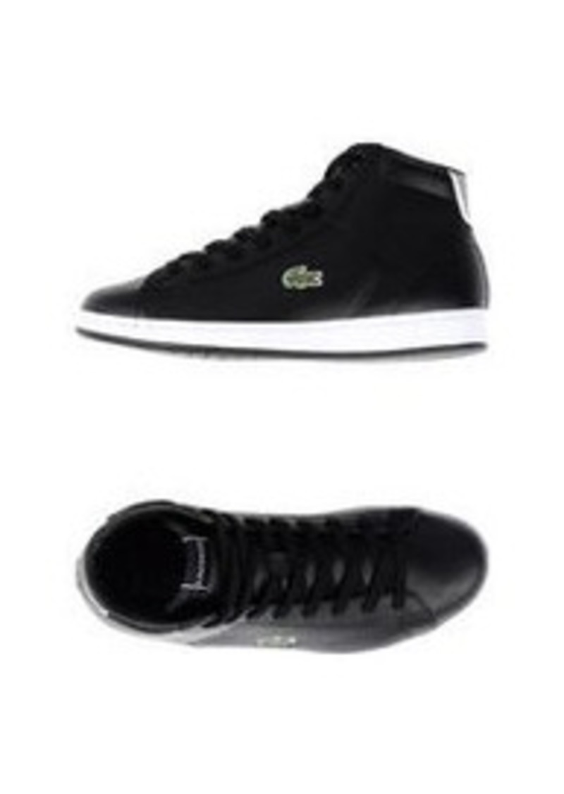 lacoste lacoste sport hightops shoes shop it to me