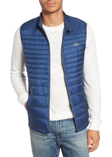b0604669a8db Lacoste Sport Water Resistant Quilted Down Golf Vest