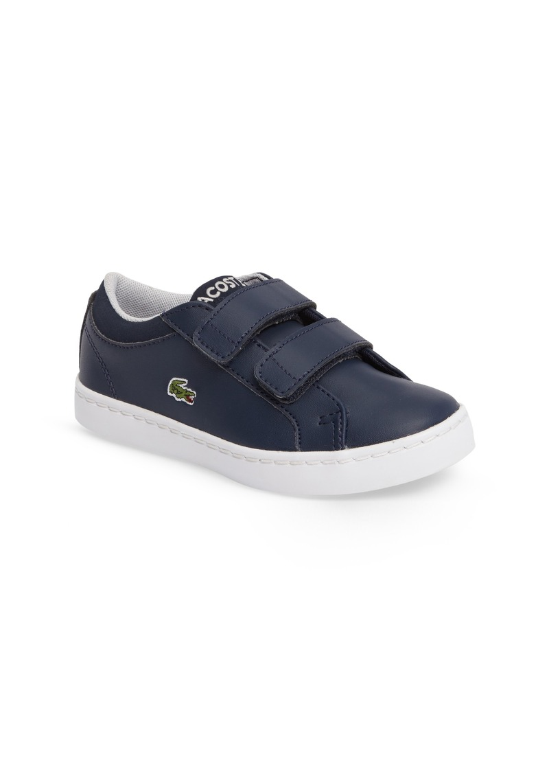 lacoste lacoste straightset sneaker baby walker toddler shoes shop it to me. Black Bedroom Furniture Sets. Home Design Ideas