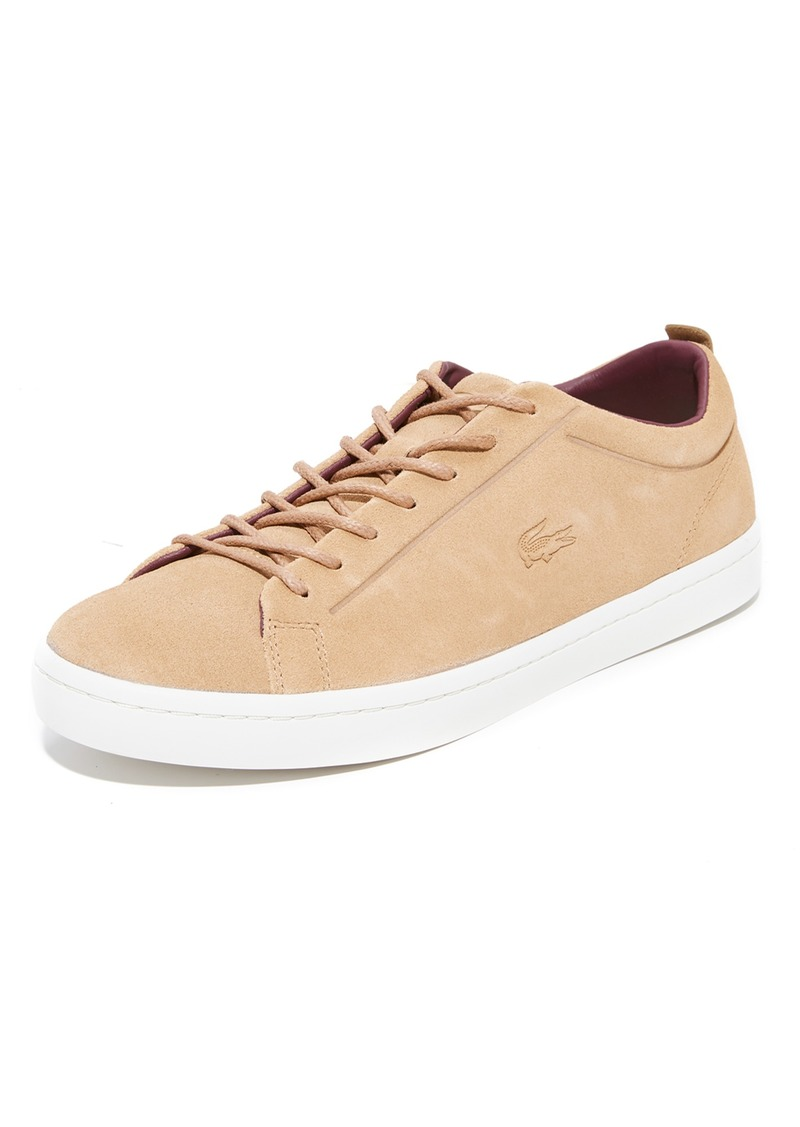 999a24b11 Lacoste Lacoste Straightset Suede Sneakers Now  75.00