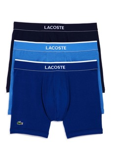 Lacoste Stretch Boxer Briefs - Pack of 3