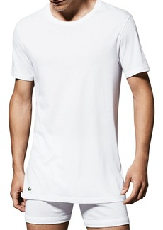 Lacoste Supima� Cotton Crewneck Tees - Pack of 3
